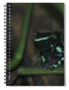 Poisonous Green Frog 04 Spiral Notebook
