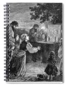 Poland: Cholera, 1873 Spiral Notebook