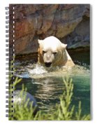 Polar Bear Swim Spiral Notebook