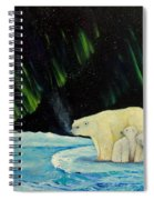 Polar Cinema Spiral Notebook