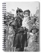Policeman, 1885 Spiral Notebook