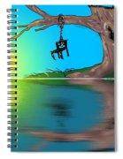 Political Sunrise Spiral Notebook