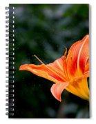 Pollen Flying Spiral Notebook