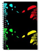 Pom Pom Pop Art Spiral Notebook