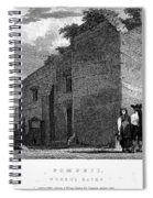 Pompeii: Bathhouse, C1830 Spiral Notebook