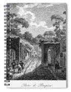 Pompeii: Herculaneum Gate Spiral Notebook