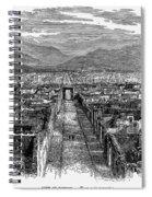 Pompeii: Ruins, C1880 Spiral Notebook