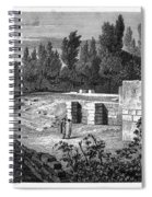 Pompeii: Stairs, C1830 Spiral Notebook