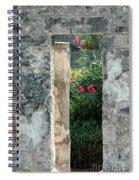 Pompii Columns 1 Pompeii Italy Spiral Notebook