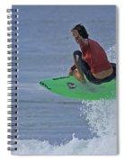 Ponce Surfer Soar Spiral Notebook