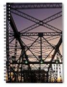 Pont Champlain - Montreal Spiral Notebook