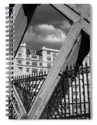 Pont Lafayette Paris Spiral Notebook