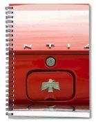 Pontiac Firebird Emblem Spiral Notebook
