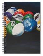 Pool Balls Spiral Notebook