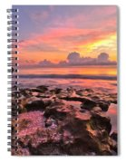 Pool Clouds Spiral Notebook