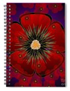 Poppies 2012 Spiral Notebook