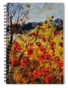 Poppies In Provence 456321 Spiral Notebook