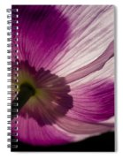 Poppy Detail 1 Spiral Notebook