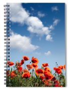Poppy Flowers 04 Spiral Notebook