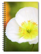 Poppy Of Peace Spiral Notebook