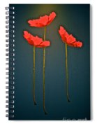 Poppy Power Spiral Notebook
