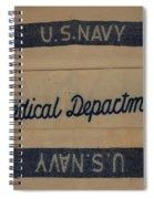 Pops W W I I Navy Blanket Spiral Notebook