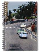 Porsches At Monte Carlo Casino Square Spiral Notebook