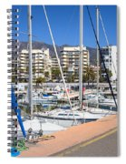 Port In Marbella Spiral Notebook