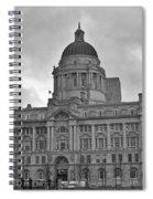 Port Of Liverpool Building Spiral Notebook