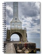 Port Washington Lighthouse Spiral Notebook