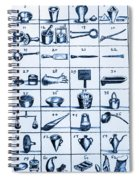 Portable Laboratory Of Johann Joachim Spiral Notebook