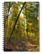 Portal Through The Woods Spiral Notebook