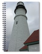 Portland Lighthouse Spiral Notebook