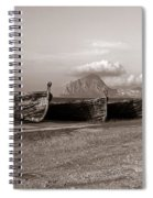 Old Port Of Trapani Spiral Notebook
