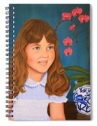 Portrail Of A Young Girl Spiral Notebook