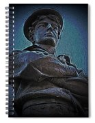 Portrait 33 American Civil War Spiral Notebook