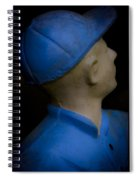 Portrait Of A Lawn Jockey Spiral Notebook