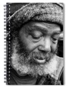 Portrait Of A Man In New Orleans Spiral Notebook