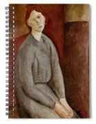 Portrait Of Annie Bjarne Spiral Notebook