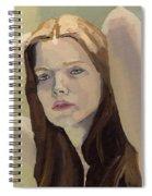 Portrait Of Ashley Spiral Notebook