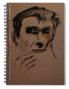 Portrait Of Frank Frazetta Spiral Notebook
