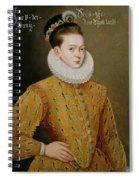Portrait Of James I Of England And James Vi Of Scotland  Spiral Notebook