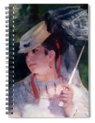 Portrait Of Lise Spiral Notebook