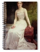Portrait Of Madame Olry-roederer Spiral Notebook