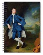 Portrait Of Man Spiral Notebook