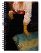 Portrait Of Miss Macwirter Spiral Notebook