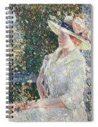 Portrait Of Miss Weir Spiral Notebook