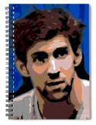 Portrait Of Phelps Spiral Notebook