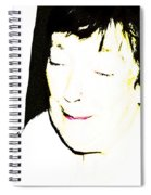 Portrait Of Tears 1 Spiral Notebook