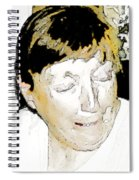 Portrait Of Tears 2 Spiral Notebook